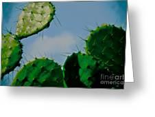 Cacti Junkie Greeting Card