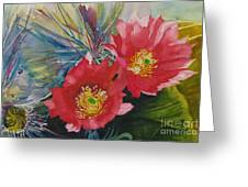 Cactus Bloom Greeting Card