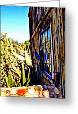 Cactus Reflection Greeting Card