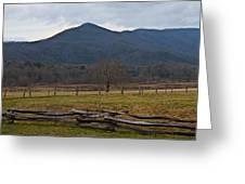 Cade's Cove - Smoky Mountain National Park Greeting Card