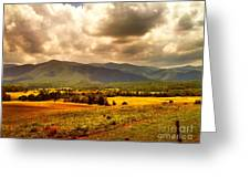 Cades Cove Greeting Card