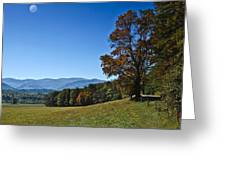 Cades Cove Landscape Greeting Card
