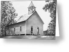Cades Cove Methodist Church Greeting Card