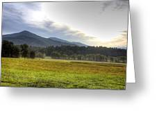 Cades Cove Mountian Scene Greeting Card