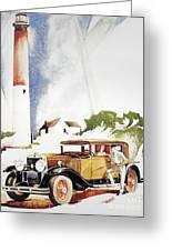 Cadillac Ad, 1929 Greeting Card