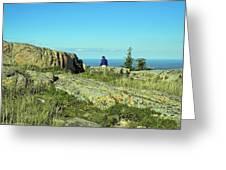 Cadillac Mountain Majesty Greeting Card