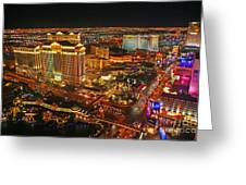 Caesars Palace On The Strip Greeting Card