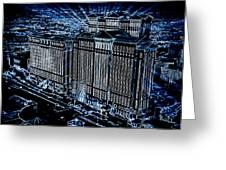 Caesars Palace Greeting Card by Steven Richardson