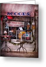 Cafe - Clinton Nj - The Luncheonette  Greeting Card