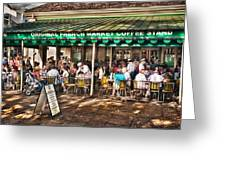 Cafe Du Monde Greeting Card by Brenda Bryant