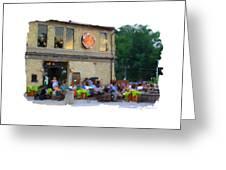 Cafe Hollander Greeting Card