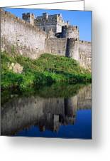 Cahir Castle, River Suir, County Greeting Card