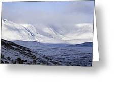 Cairngorms Plateaux, Scotland Greeting Card