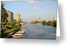 Cairo City Streets Greeting Card
