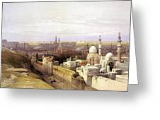 Cairo From The West Greeting Card