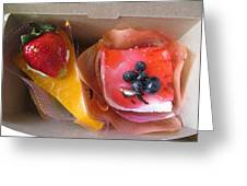 Cakes For Two Greeting Card