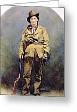 Calamity Jane (c1852-1903) Greeting Card