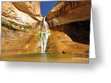 Calf Creek Falls Greeting Card