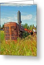 Calgary Tractor Greeting Card
