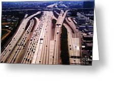 Cali Traffic Greeting Card