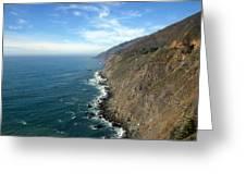 California Coast Greeting Card by Joshua Benk