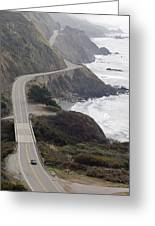 California Highway 1 Or Pacific Coast Greeting Card