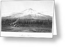California: Mount Shasta Greeting Card