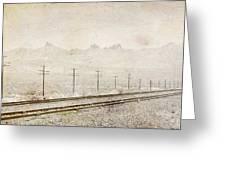 California Railroad Greeting Card