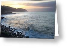California Sunrise Greeting Card