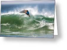 California Surfing 1 Greeting Card