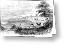 California: Vallejo, 1852 Greeting Card