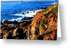 California Waterfront Greeting Card