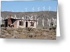 California Wind Greeting Card