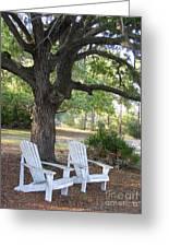 Callaway Chairs Greeting Card