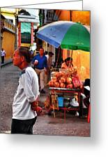 Calle De Coco Greeting Card
