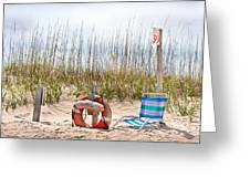 Calm By The Sea Greeting Card