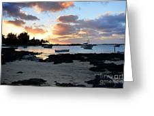 Calm Evening At The Cape Greeting Card