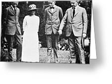 Calvin Coolidge & Family Greeting Card