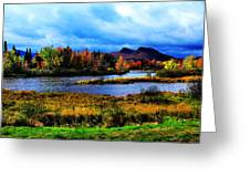 Camelback Mountain Maine Greeting Card