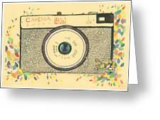 Cameras Retro Greeting Card
