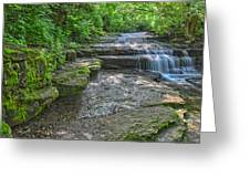 Camp Lazarus Falls Greeting Card