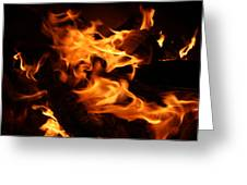 Campfire 3 Greeting Card