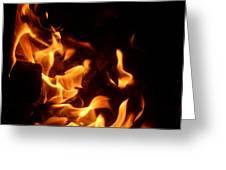 Campfire 4 Greeting Card