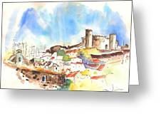Campo Maior In Portugal 02 Greeting Card