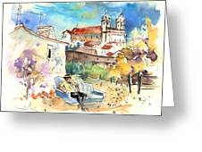 Campo Maior In Portugal 03 Greeting Card