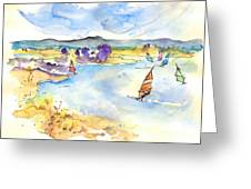 Campo Maior In Portugal 04 Greeting Card