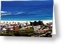 Camps Bay Beach Greeting Card
