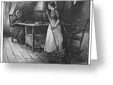 Canada: Daily Life, 1883 Greeting Card