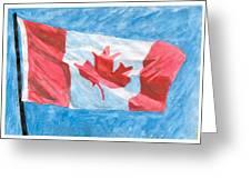 Canada Day Greeting Card
