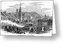 Canada: Gavazzi Riot, 1853 Greeting Card
